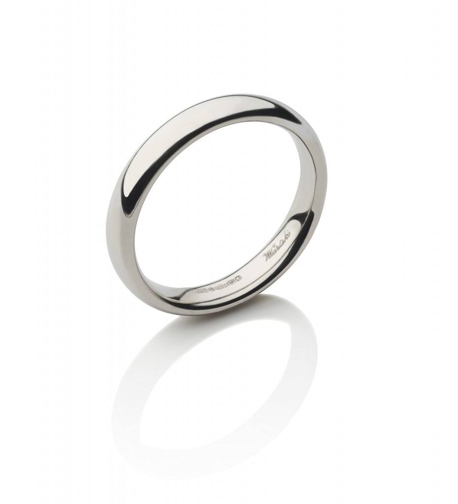 Classic Court Ring in Platinum