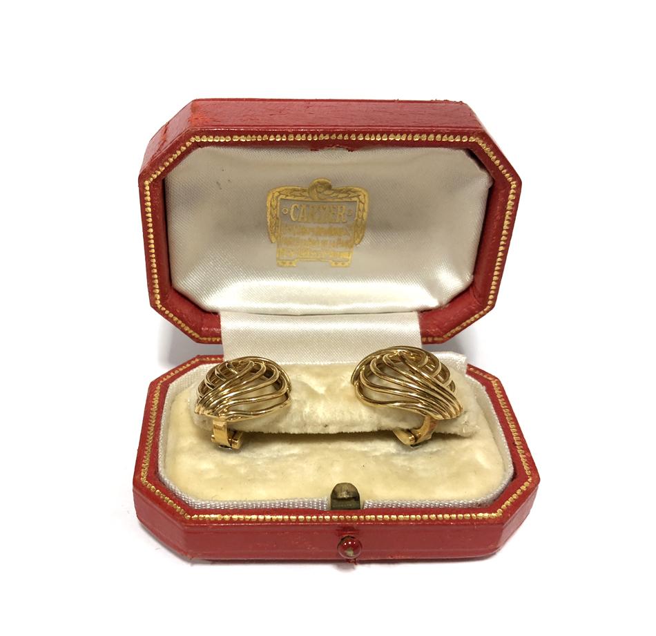 Cartier earclips